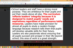 The Integrity Measure – why education needs it. – Old Primary Head